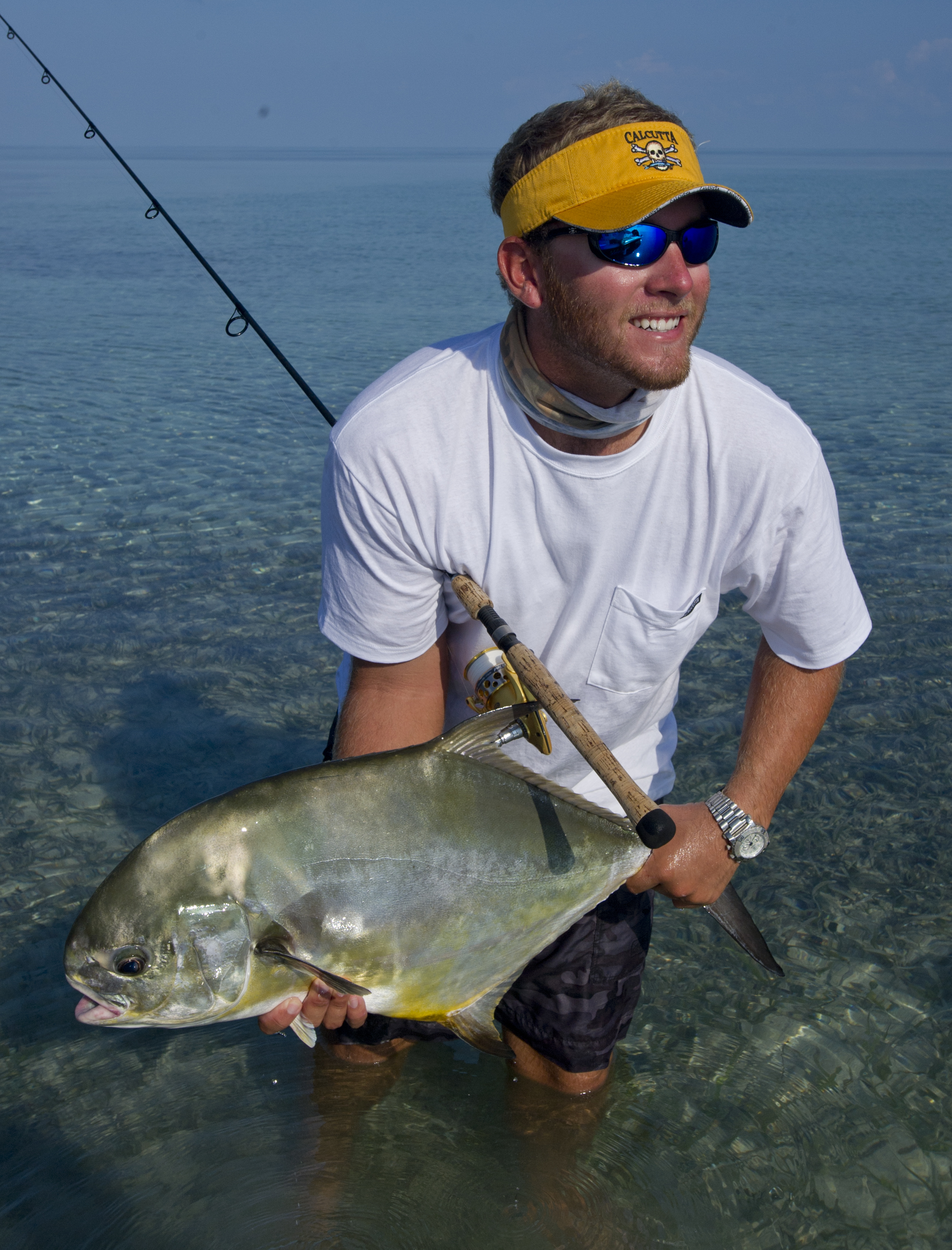 Flats fishing is very good right now in key west key for Fishing in key west