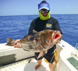 Grouper fishing Key West