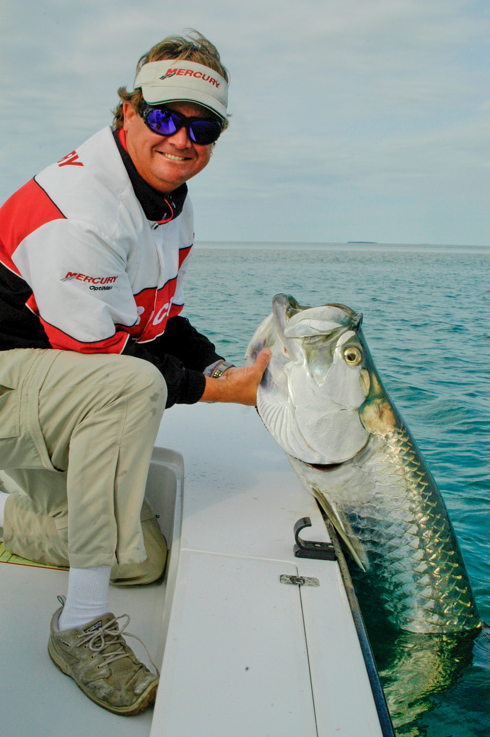 Tarpon and Capt. Steven Lamp