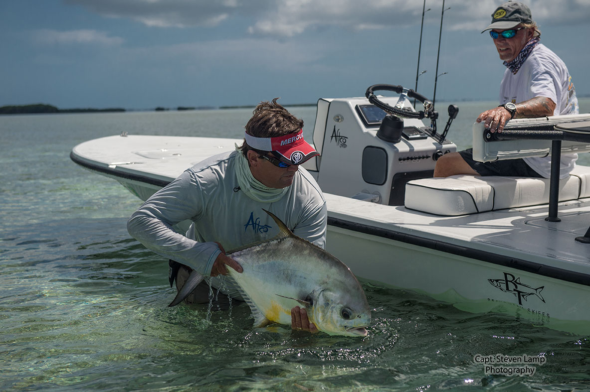 New flats fishing skiff key west fishing report for How to not get seasick on a fishing boat