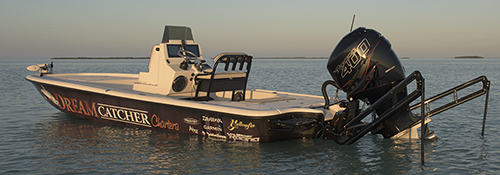 Yellowfin Carbon Elite bay boat