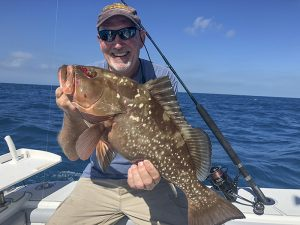 Red Grouper and Anglers