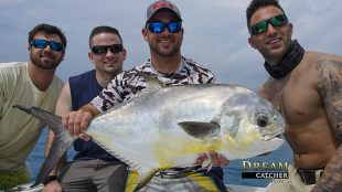 Permit Key West caught with Capt. Steven Lamp