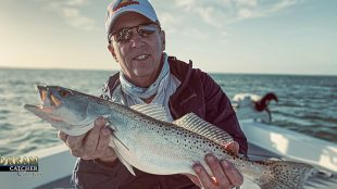 speckled Sea trout caught in Key West