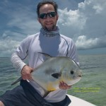 permit fish and angler
