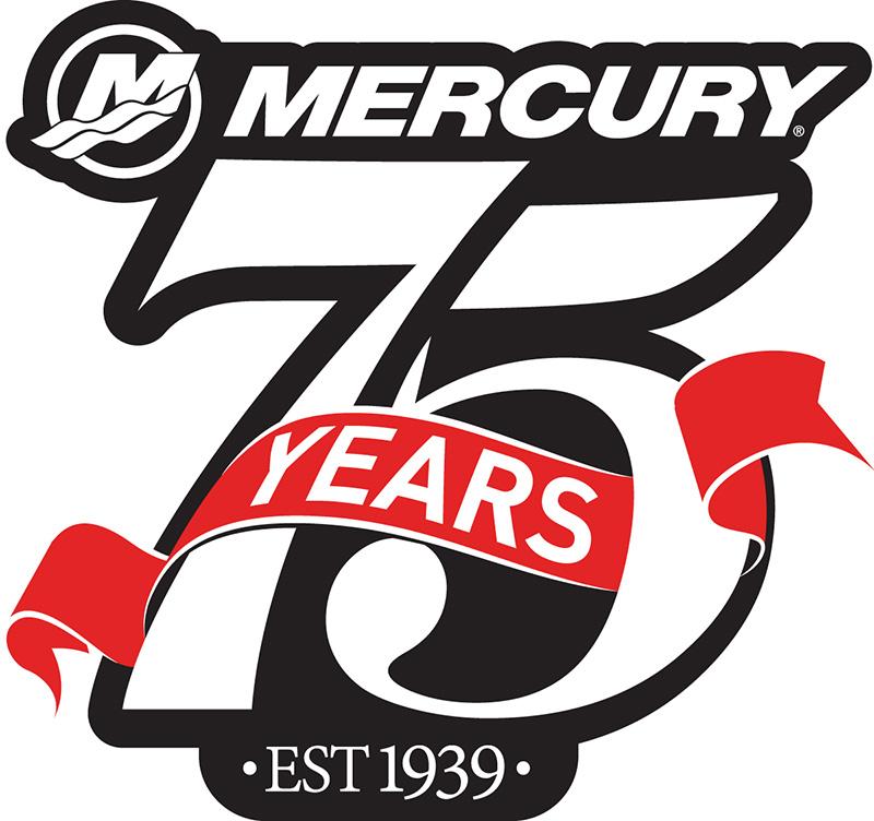 Mercury 75 Years Logo