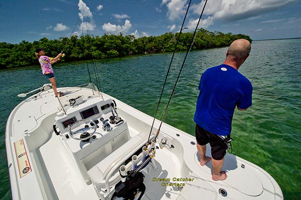 Backcountry fishing Key West
