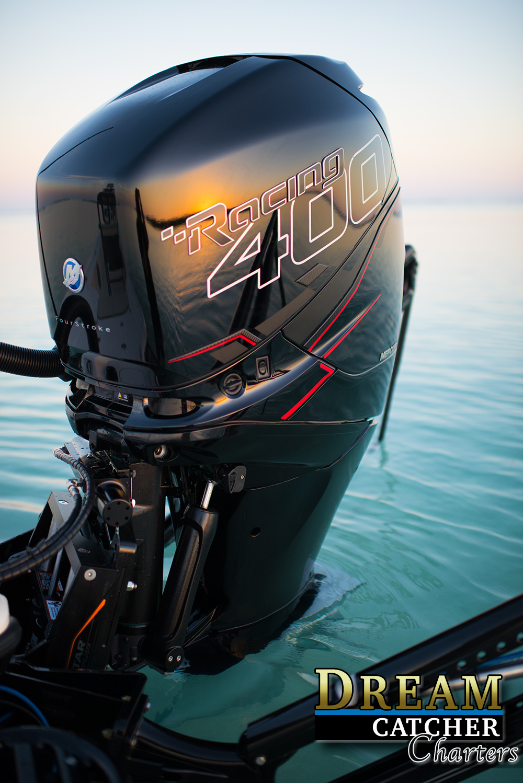 400 R Mercury Racing outboard motor