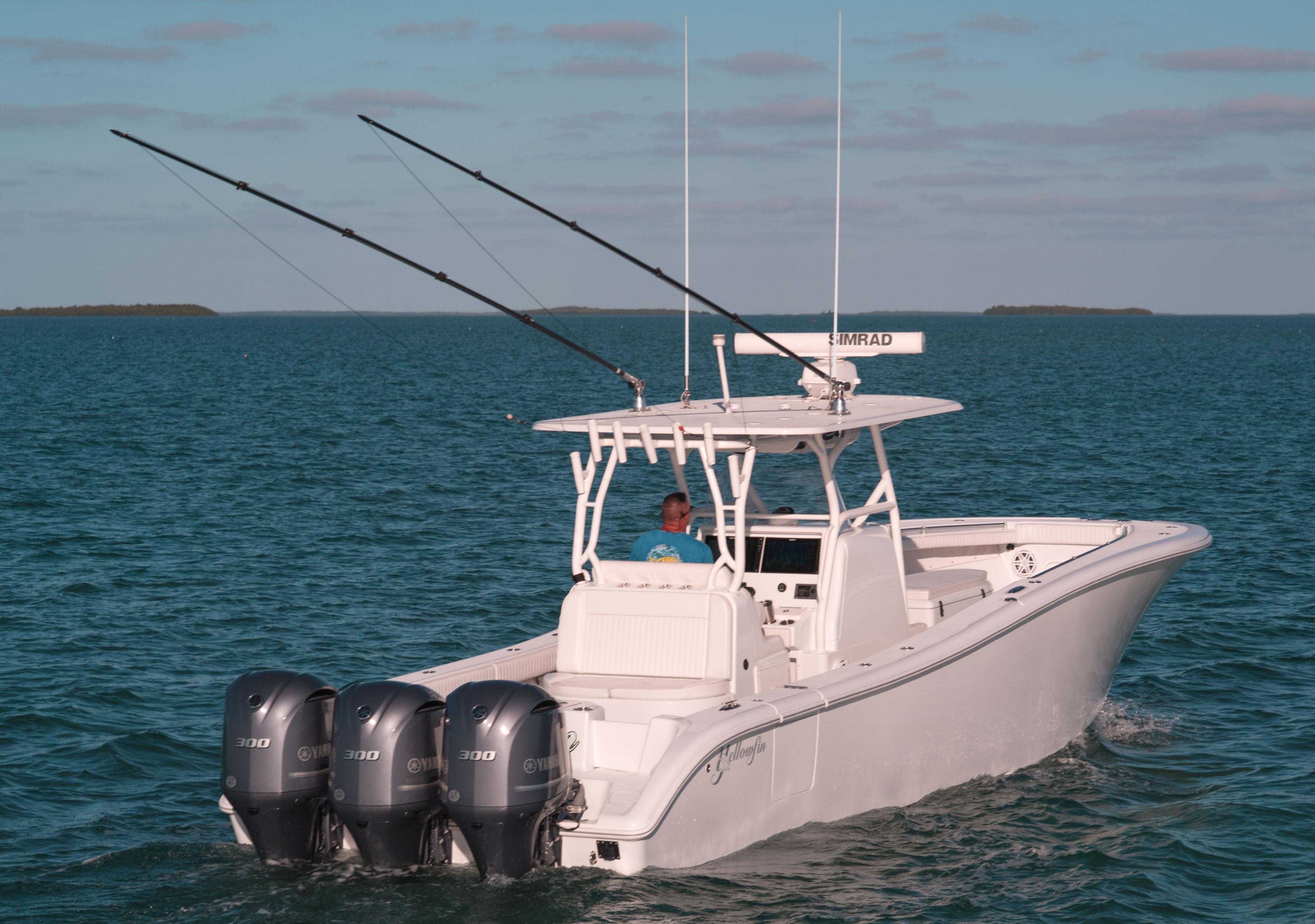 Yellowfin 36 Center Conosle