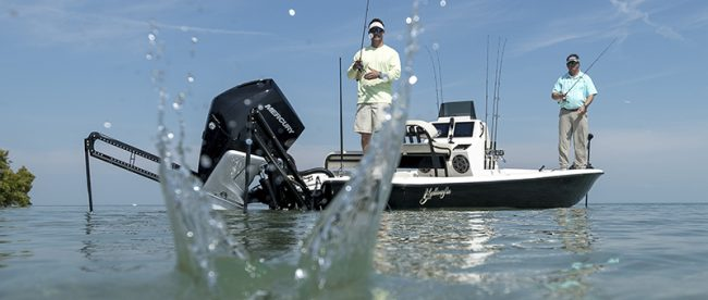 Yellowfin 24 Mercury fourstroke V8 4 Stroke Outboard 4.6 liter