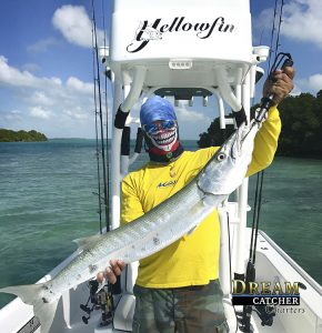 Yellowfin 24, barracuda, fishing, flats Key West