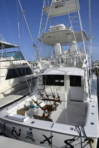 Viking 47, deep sea fishing, sport fishing boat, convertible