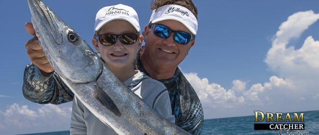 Barracuda, fishing