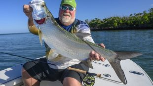 baby tarpon fly fishing Key West