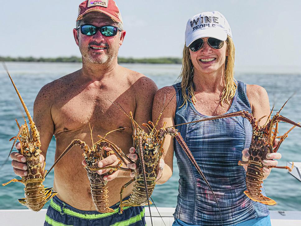 Lobster Mini season catch