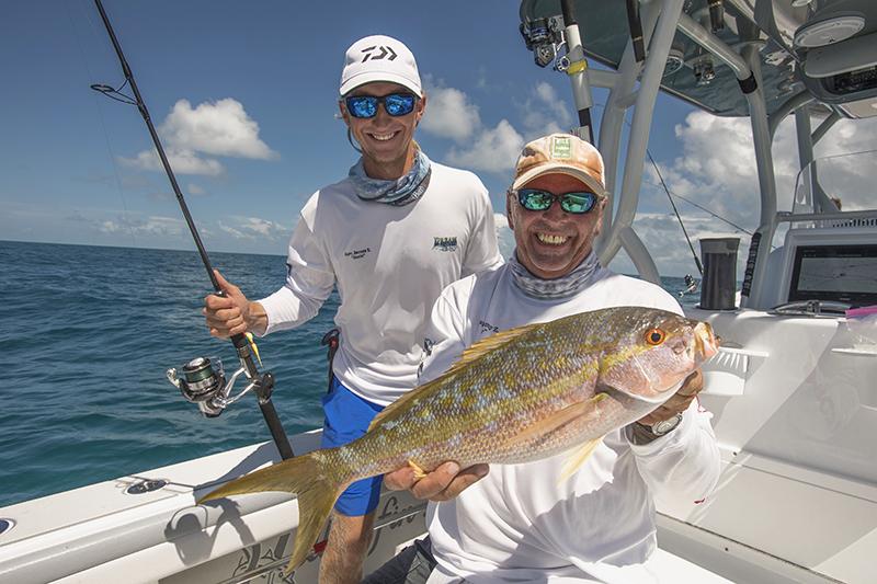 reef fishing Key West report